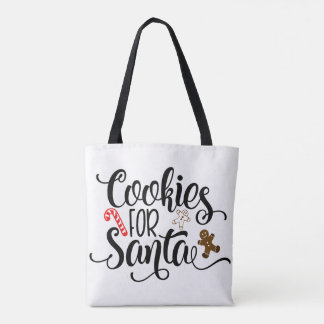 Cookies for Santa Tote Bag