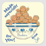 Cookies from You Customized Labels Stickers