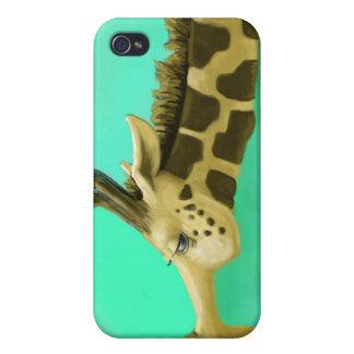 Cookies Giraffe iPhone 4 Cases