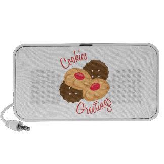 Cookies Greetings Notebook Speakers