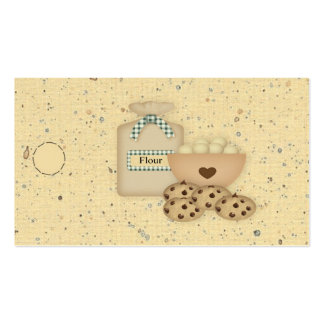 Cookies Hang Tag Business Card Template