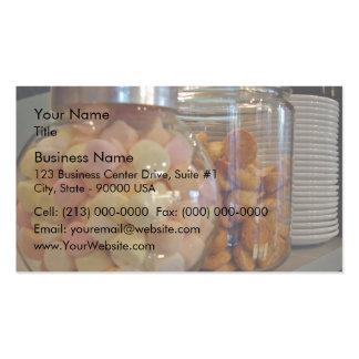 Cookies in jars business cards