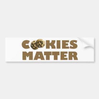 Cookies Matter Bumper Sticker