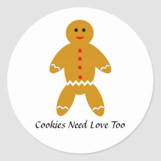 Cookies Need Love Too Stickers