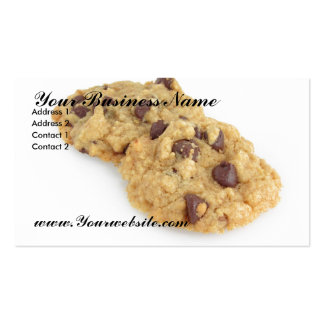 Cookies Pack Of Standard Business Cards