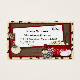 Cookies Snacks Business Card