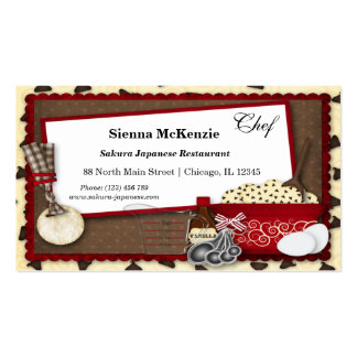Cookies Snacks Pack Of Standard Business Cards