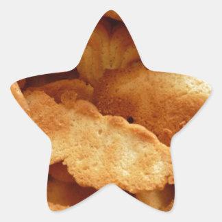 Cookies Star Sticker