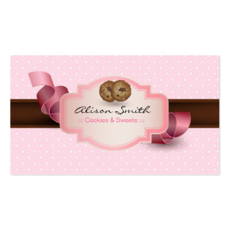 Cookies & Sweets Business Card