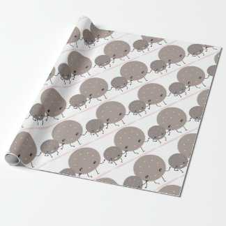 cookies wrapping paper