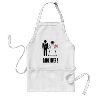 COOKING APRON GAME OVER After Wedding