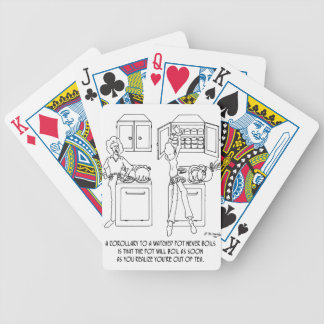 Cooking Cartoon 0676 Bicycle Playing Cards