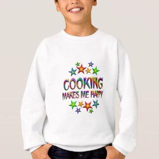 Cooking Happy Sweatshirt