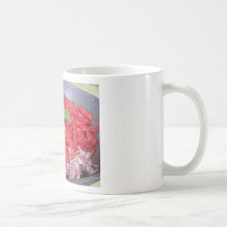 Cooking homemade tomato sauce coffee mug