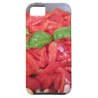 Cooking homemade tomato sauce iPhone 5 case