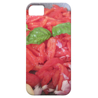 Cooking homemade tomato sauce iPhone 5 cover