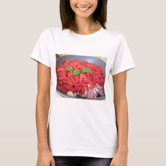 Cooking homemade tomato sauce T-Shirt