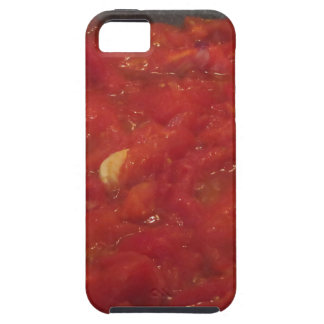 Cooking homemade tomato sauce using fresh tomatoes case for the iPhone 5
