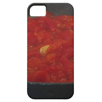 Cooking homemade tomato sauce using fresh tomatoes iPhone 5 covers