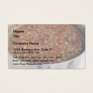 Cooking Hot Chili Business Card