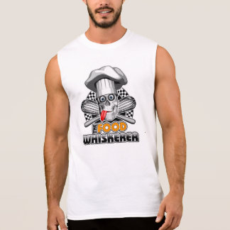 Cooking Humor: Food Whiskerer 5 Sleeveless Shirt
