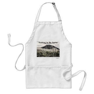 """""""Cooking In The Tontos"""" Unisex Apron"""