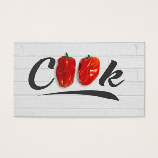 Cooking Instructor / Chef Business Card