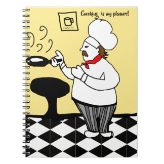 cooking is my pleasure notebook