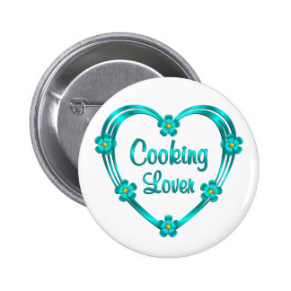 Cooking Lover 2 Inch Round Button