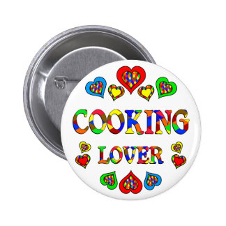 Cooking Lover Pinback Button
