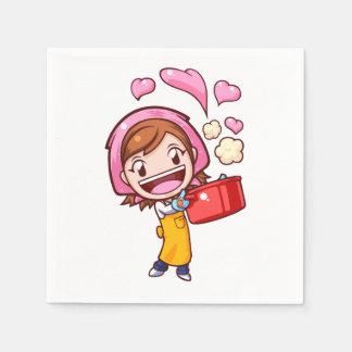 Cooking Mama - Pan Paper Napkin
