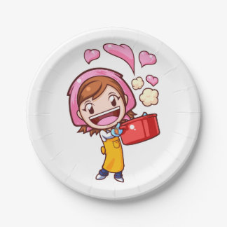 Cooking Mama - Pan Paper Plate