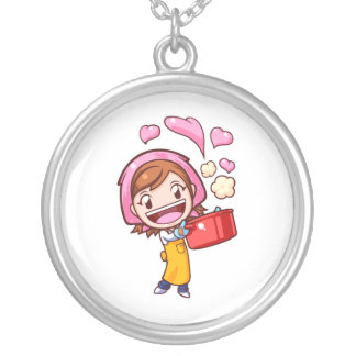 Cooking Mama - Pan Silver Plated Necklace