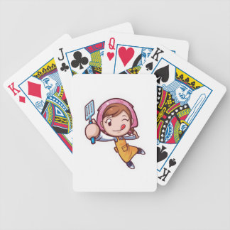 Cooking Mama - Spatula Bicycle Playing Cards