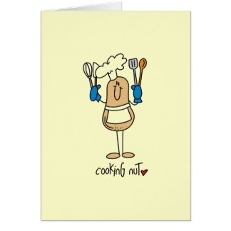 Cooking Nut T-shirts and Gifts Card