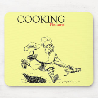 cooking pleasures mouse pad