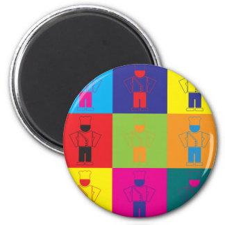 Cooking Pop Art Magnet