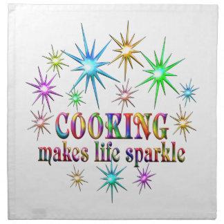 Cooking Sparkles Napkin