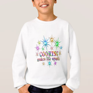 Cooking Sparkles Sweatshirt