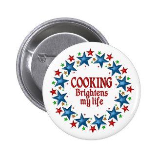 Cooking Stars 2 Inch Round Button