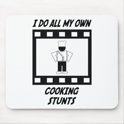 Cooking Stunts Mouse Mat