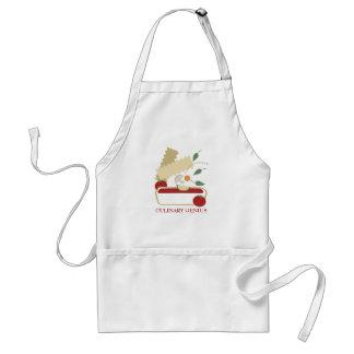 Cooking vegetarian vegetable lasagna food t-shi... adult apron