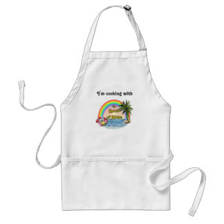Cooking with Aloha Spirit Standard Apron