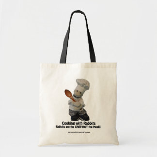 Cooking with Rabbits - Tote Bag