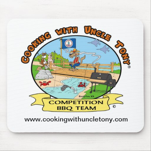Cooking With Uncle Tony Competition Mouse Pad