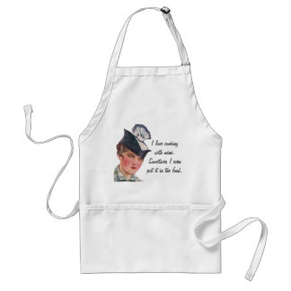 Cooking with Wine Standard Apron