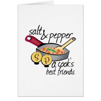 Cooks Best Friends Card