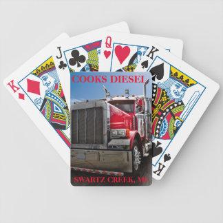 COOKS DIESEL POKER CARDS