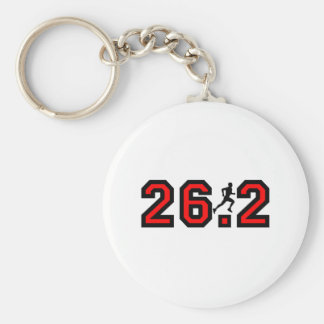Cool 26.2 marathon key chain