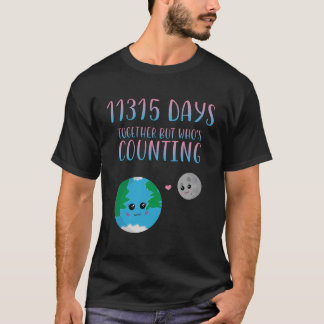 Cool 31st Together Shirt For Anniversary